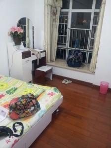 My hostel room in Guangzhou.