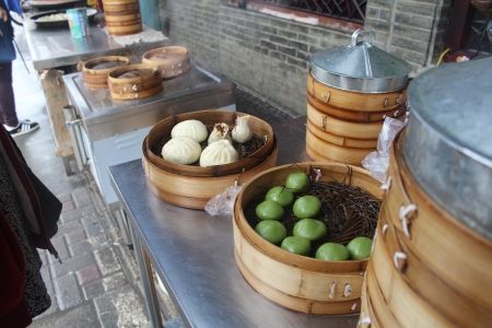 Dumplings in Suzhou
