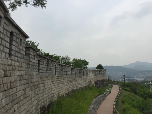 Naksan Park Wall, Seoul - 25th June