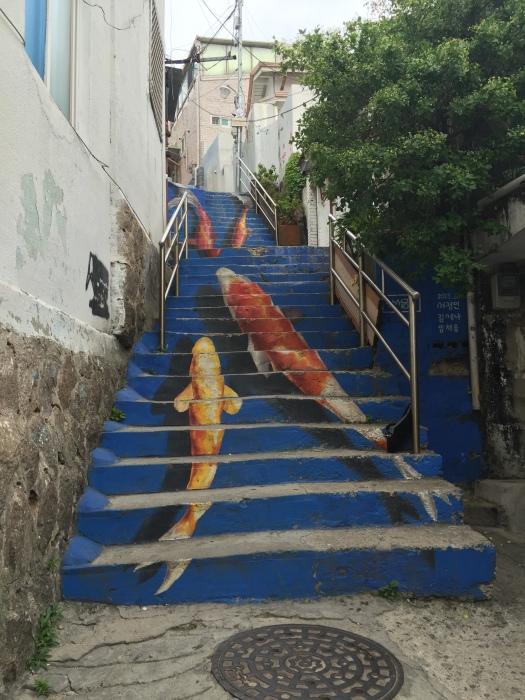 Naksan Art Street, Seoul - 25th June