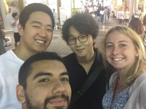 Myeong-dong, Seoul - 26th June