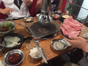 Korean BBQ, Seoul