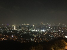 The view from Seoul Tower, July 2015