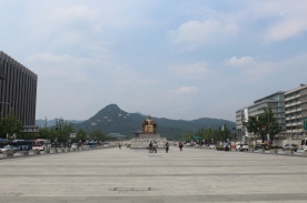 Gwanghuamen - Main Square and Palace in Seoul, June 2015