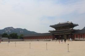 Gwanghuamen - Main Square and Palace in Seoul, June 2015